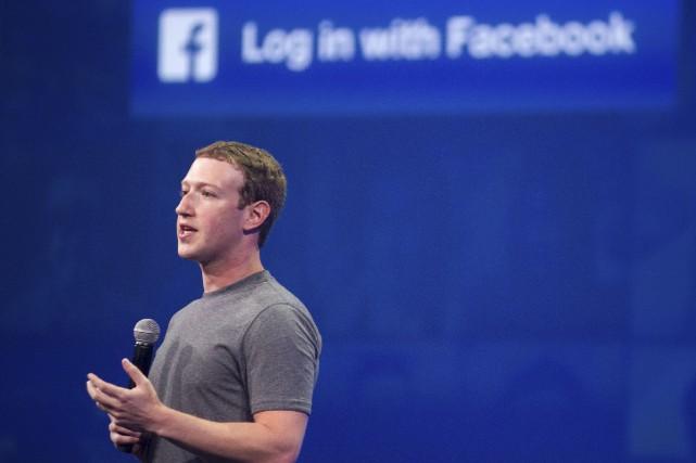 Le pdg de Facebook, Mark Zuckerberg... (AFP, Josh Edelson)