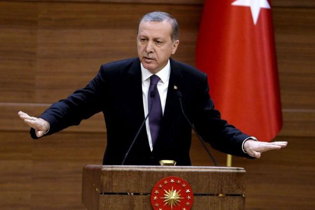 Le président islamo-conservateur turc,Recep Tayyip Erdoğan... (Adem Altan, Archives AFP)