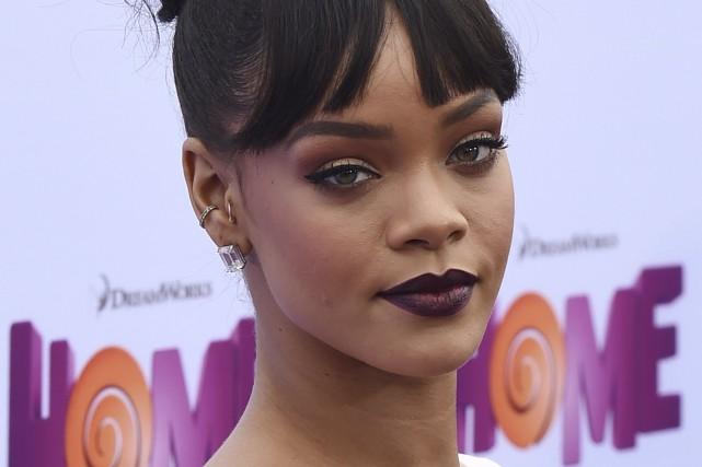 Rihanna affirme que son albumAntiserait «l'antithèse» de ce... (Archives AFP)