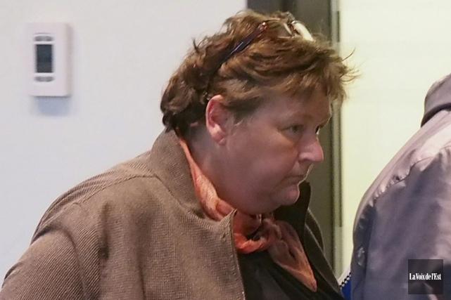 Donna Wilson a poursuivi Cowansville parce que la... (archives La Voix de l'Est)