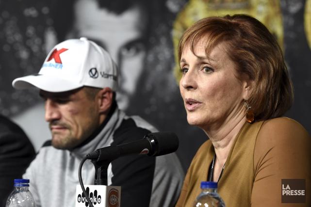 La promotrice deSergey Kovalev,Kathy Duva, tenait à ce... (La Presse, Bernard Brault)