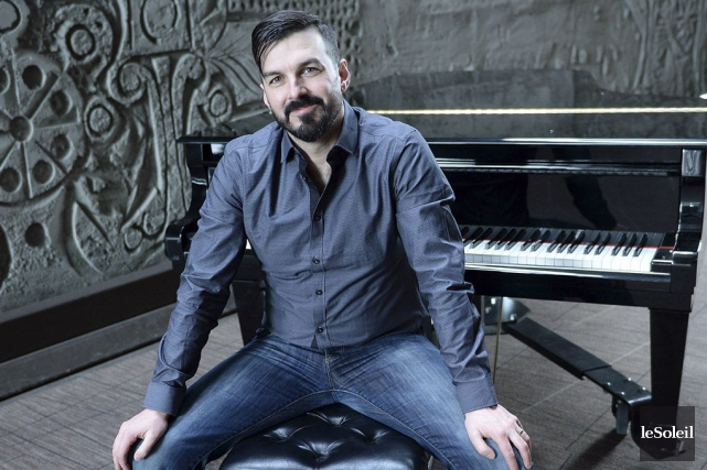 Le chanteur franco-ontarien Damien Robitaille... (Archives Le Soleil)