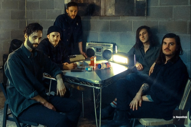 La formation montréalaise Adam Strangler lancera son album... (François Gervais, Le Nouvelliste)