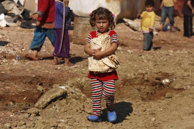 L'ONG Save the Children mène campagne pour que... (PHOTO REUTERS)
