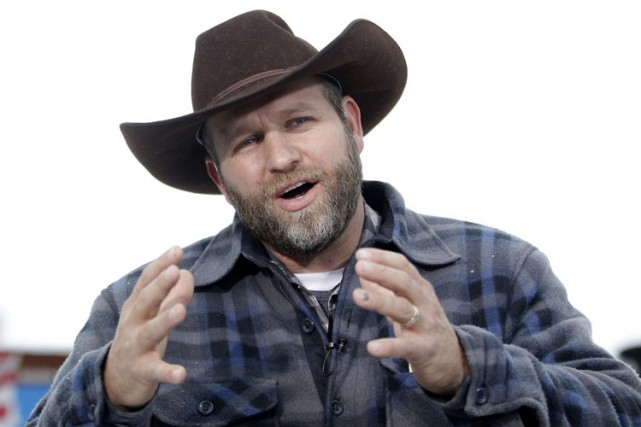 Ammon Bundy (ci-dessus), le leader du mouvement antigouvernemental,... (PHOTO ARCHIVES AP)