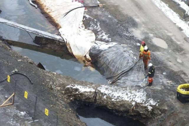 Hydro-Québec a plaidé coupable à l'une des deux... (Fournie par Diane Hébert)