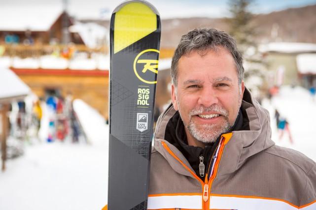 L'actuel directeur général de Mont Sutton, Jean-Michel Ryan,... (photo fournie par Mont Sutton)