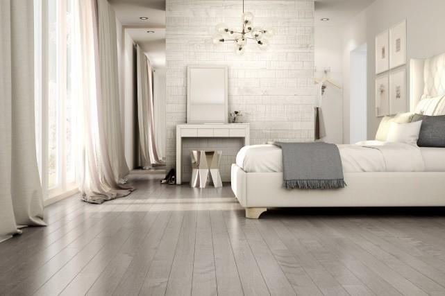 Le plancher texturé Edge couleur Inox de Preverco... (Fournie par Preverco)