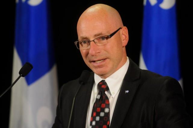 Jean-Denis Girard... (François Gervais, Le Nouvelliste)