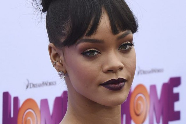 Rihanna... (Photo AFP)