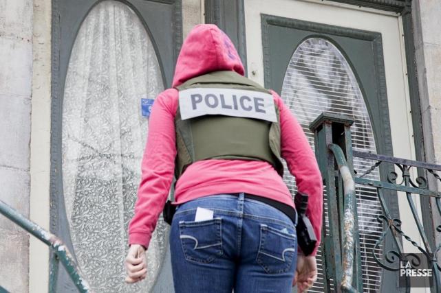 Treize individus ont été arrêtés mercredi dans le... (Photothèque, La Presse)