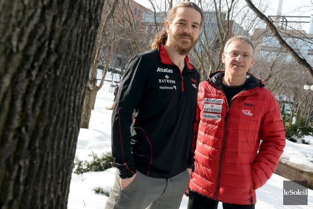 Charles Cournoyer (à gauche) et Pierrot Bernier estiment... (Le Soleil, Erick Labbé)