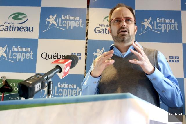 Le président du comité organisateur Philippe Lebel a... (Patrick Woodbury, LeDroit)
