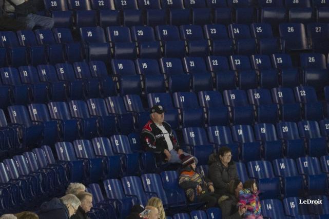 Les Olympiques sont durement touchés par les baisses... (Martin Roy, LeDroit)