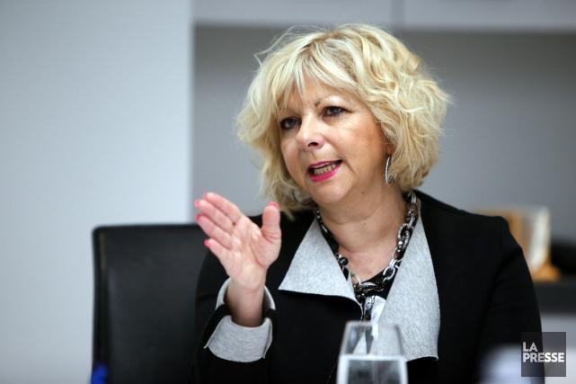 Josée Bouchard, présidente de la Fédération des commissions... (PHOTO MARTIN CHAMBERLAND, LA PRESSE)