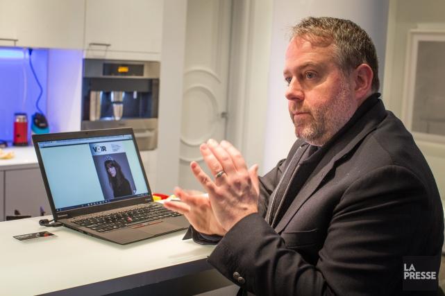 Président du conseil du journal Voir, Alexandre Taillefer... (PHOTO OLIVIER PONTBRIAND, LA PRESSE)