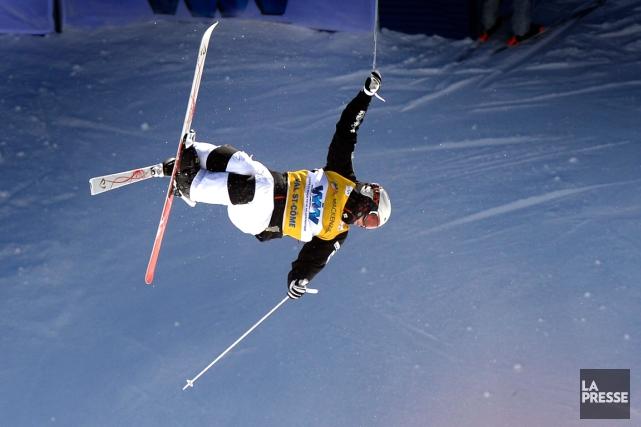 MikaëlKingsbury a remporté sa 30evictoire en carrière le... (Photo Bernard Brault, La Presse)