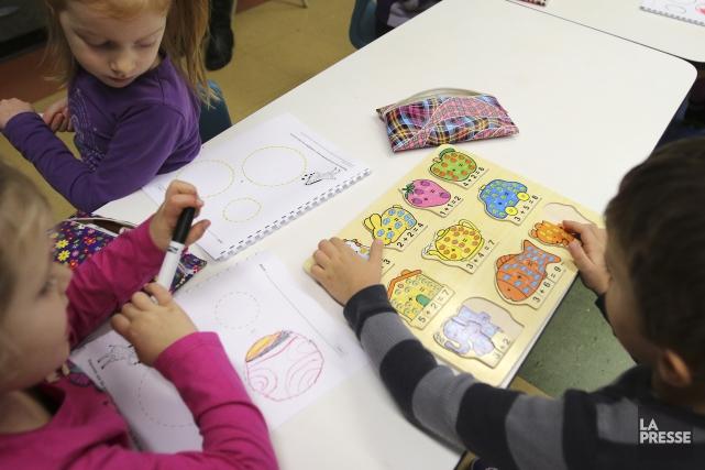 Le Conseil québécois des services de garde éducatifs à l'enfance (CQSGEE) a... (Archives La Presse)