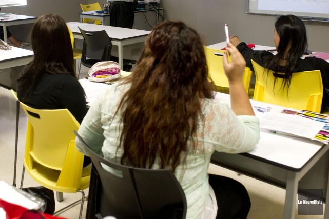 Les écoles situées dans les réserves ne favorisent pas la réussite des élèves... (PHOTO STÉPHANE LESSARD, ARCHIVES LE NOUVELLISTE)