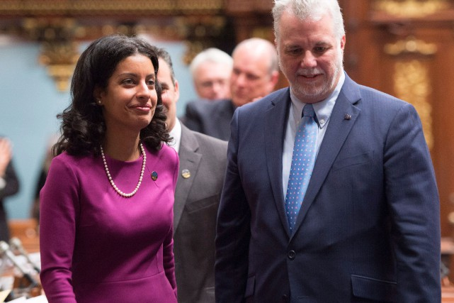 Dominique Anglade devient la ministre responsable de l'Économie,... (PHOTO JACQUES BOISSINOT, ARCHIVES LA PRESSE CANADIENNE)