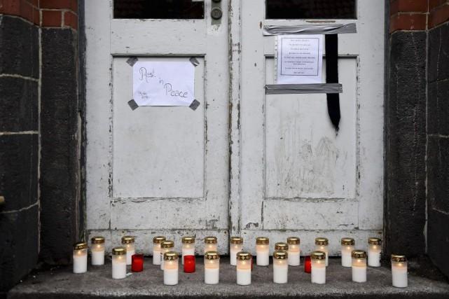 Mercredi, une association berlinoise d'aide aux réfugiés a... (PHOTO TOBIAS SCHWARZ, AFP)