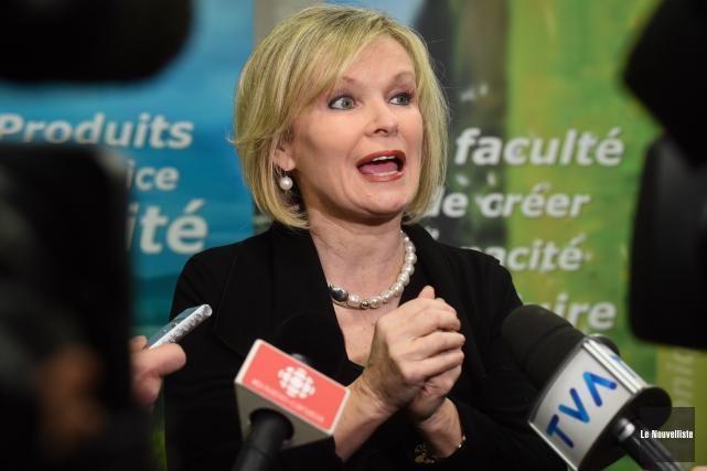 Julie Boulet a été nommée ministre du Tourisme.... (Photo: François Gervais Le Nouvelliste)