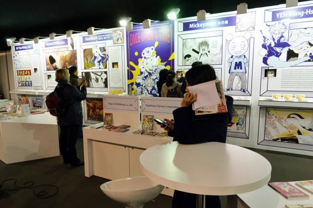 Le Festival international de la bande dessinée (FIBD) s'est ouvert jeudi dans... (PHOTO AFP)