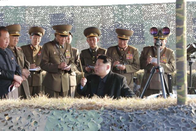 La Corée du Nord a procédé à des... (PHOTO KCNA KCNA / Archives Reuters)