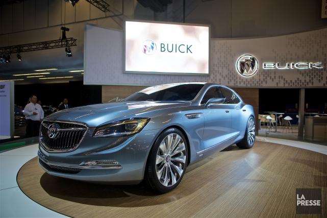 Buick Avenir Concept... (PHOTO ANDRÉ PICHETTE, LA PRESSE)