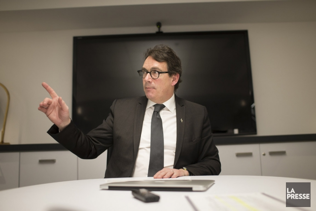 Le chef péquiste ne voit rien dans le... (Photo Olivier Pontbriand, archives La Presse)