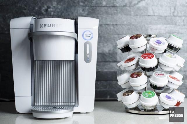 Niveau goût, le système de boissons Keurig Kold... (La Presse)