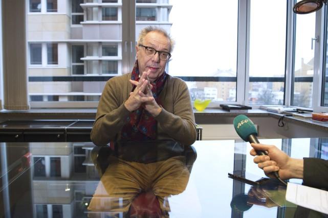 Le patron de la Berlinale DieterKosslickse dit convaincu... (AFP, John MacDougall)