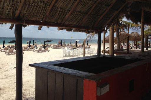 Le cachet caribéen de Puerto Morelos demeure. Sur... (Collaboration spéciale, Albert Bérubé)