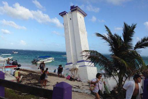 Puerto Morelos est reconnu pour son phare très... (Collaboration spéciale, Albert Bérubé)