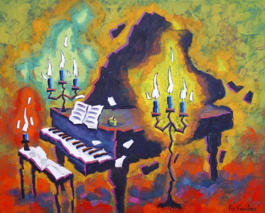 Hymne à la lumière... (Fournie)