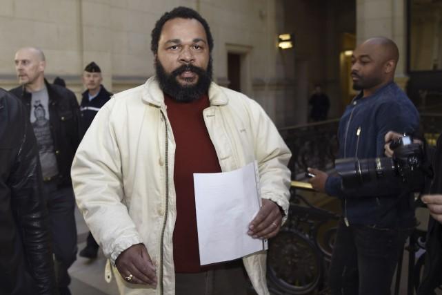 Dieudonné devait donner deux représentations de son dernier... (Archives AFP)