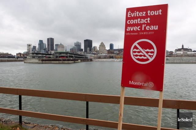 Si Montréal doit encore assécher les égouts, la... (Photothèque Le Soleil)