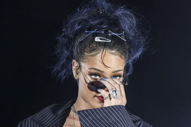L'écoute de l'album de Rihanna sera réservée aux... (AP, Rich Fury)