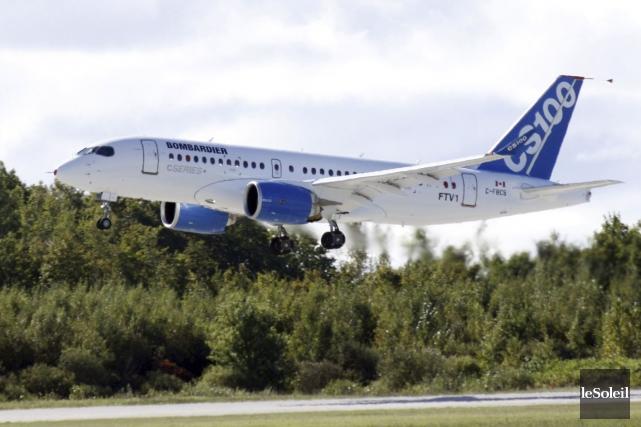Nouvelle tuile pour Bombardier: l'un des principaux acheteurs d'avions C... (PHOTO ARCHIVES LE SOLEIL)