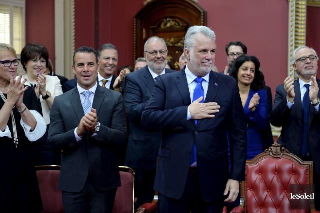 En plus d'avoir assermenté des nouveaux ministres la... (Photothèque Le Soleil, Erick Labbé)