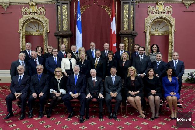 ÉDITORIAL / L'important remaniement ministériel annoncé hier par le premier... (Le Soleil, Erik Labbé)