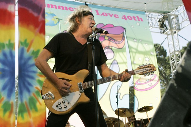 Paul Kantner, cofondateur du groupe de musique Jefferson Airplane, grand nom de... (Photo Reuters)