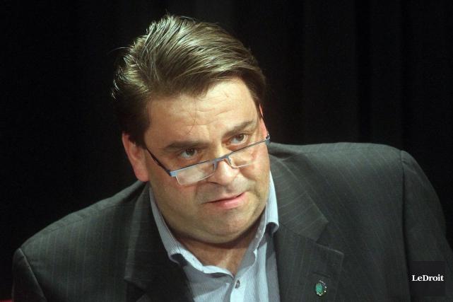 Le conseiller Marc Carrière... (Étienne Ranger, Archives LeDroit)