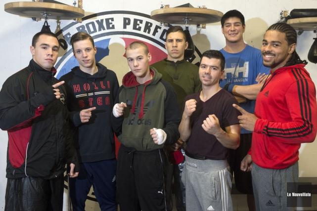 Dix boxeurs représenteront le club Performance au Défis... (Stéphane Lessard, Le Nouvelliste)