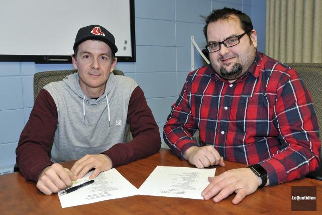Le nouveau président de l'Association régionale de baseball,... (Photo Le Quotidien, Rocket Lavoie)