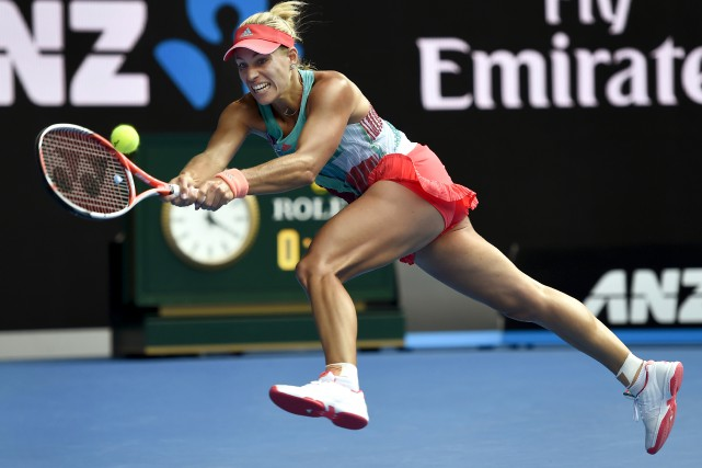 L'Allemande Angelique Kerber affrontera la favorite du tournoi,... (Photo Agence France-Presse)