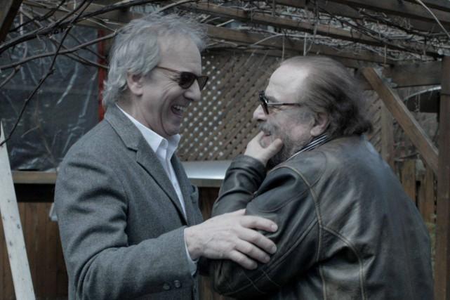 Tous deux natifs d'Alma, le cinéaste Jimmy Larouche... (Photo courtoisie)