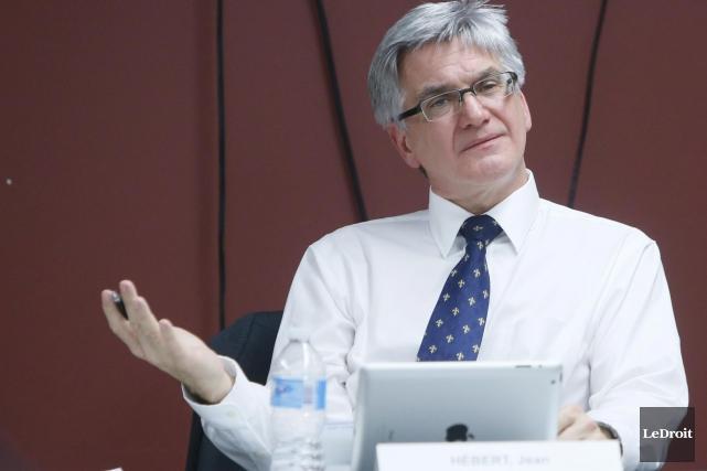 Le pdg Jean Hébert souhaite ne pas engendrer... (Simon Séguin-Bertrand, Archives LeDroit)