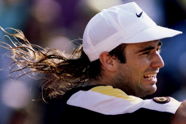 Andre Agassi... (Archives AP)