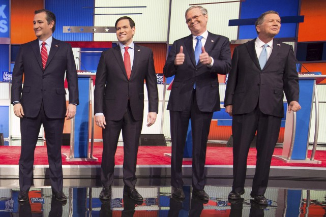 Le débat républicain était le dernier avant que... (AFP, Jim Watson)